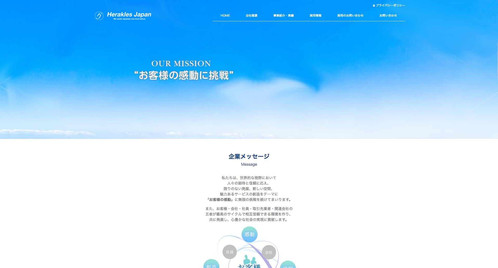 ヘラクレスジャパン コーポレートサイト